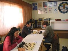 Brenda, Fustes y Ricardo Vilariño