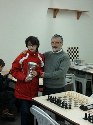 Diego Bugliot Mateo campeón provincial Sub14